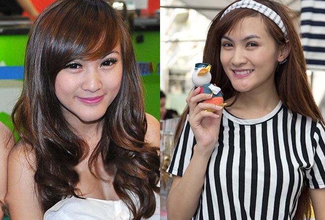 Minh Hằng, hot girl Kelly và những mỹ nhân Việt từng lộ cằm méo lệch - 9