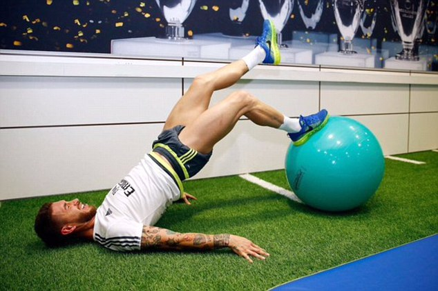 Ramos cuồng tập gym nhất nhì Real Madrid - 4