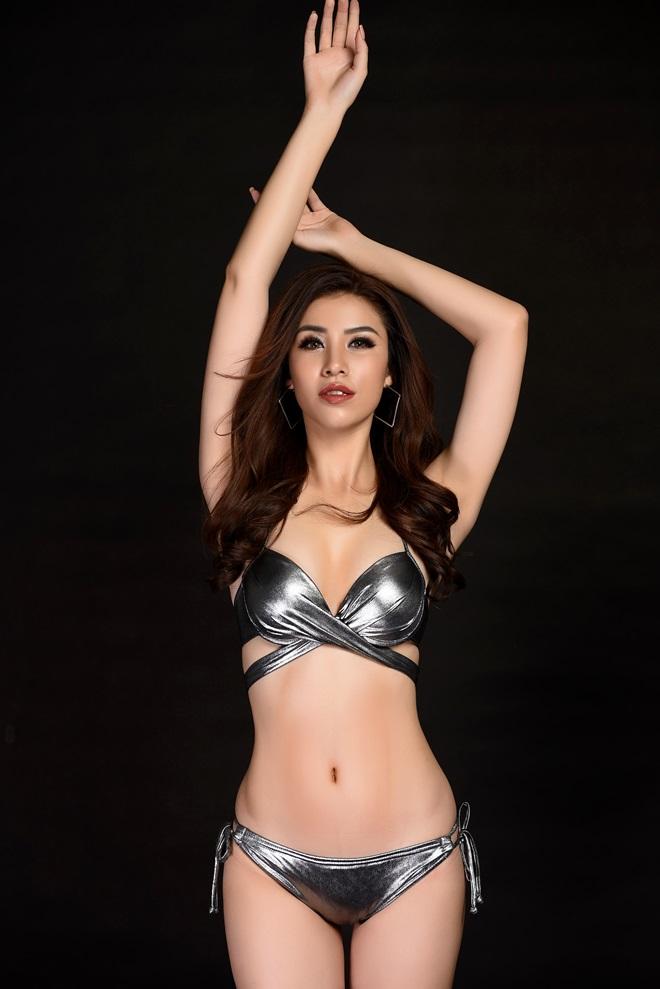 Á hậu 1 Hoa hậu Biển ngồi xổm mỗi ngày 100 cái để có thân hình đẹp - 4
