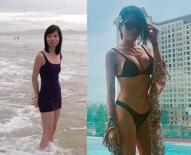 Một phụ nữ Sài Gòn từ phẳng lỳ, tong teo đến đầy đặn, bốc lửa sau 6 năm - 2