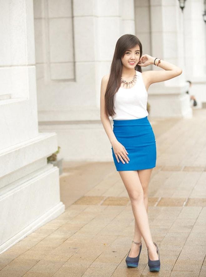 Hot girl Lâm Á Hân nóng bỏng hơn khi tái xuất tại The Face - 9