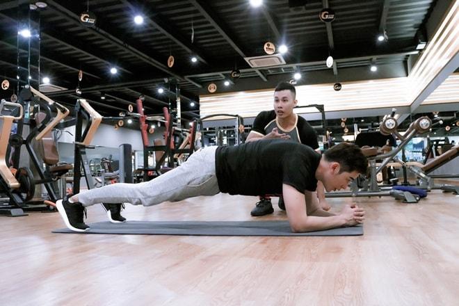 """Một tháng """"ăn ngủ"""" trong phòng gym để có thân hình nam vương như Minh Trung - 5"""