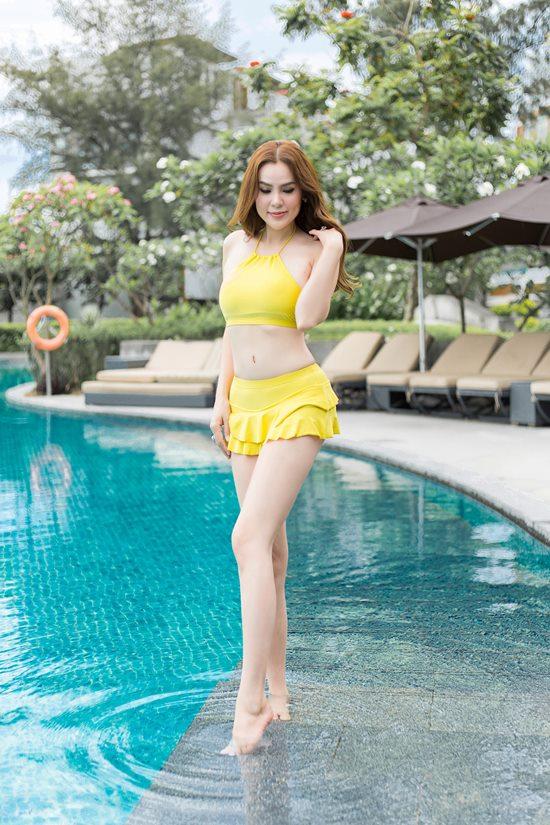 Hoa hậu quý bà Phương Lê tiết lộ bí quyết giữ dáng vóc nuột nà trên Vogue Thái - 2