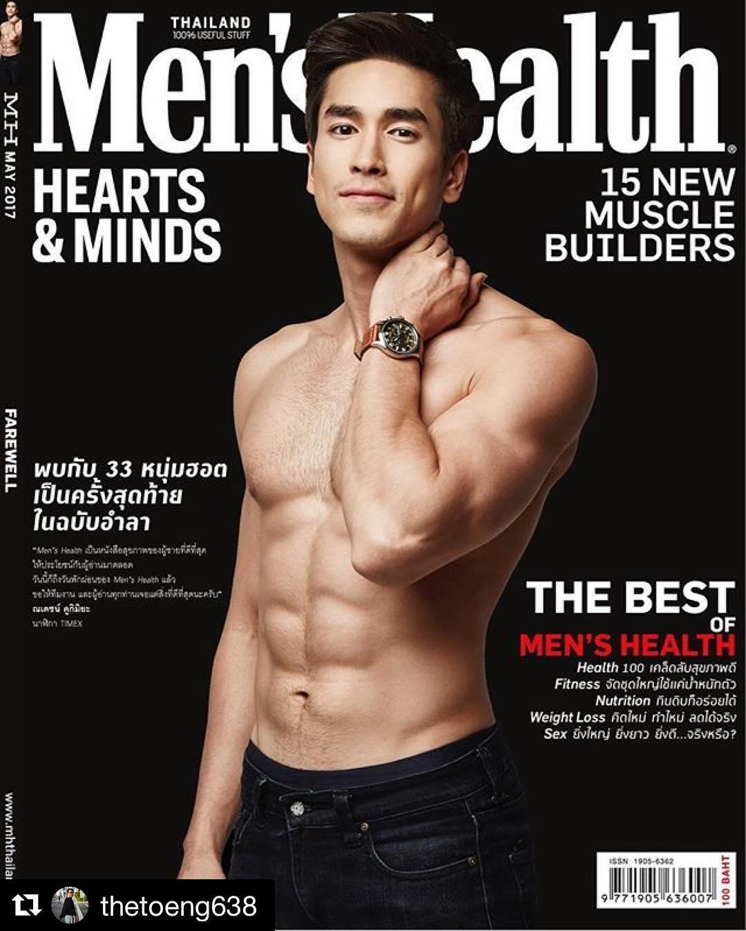 """7 mỹ nam có cơ bắp """"khủng"""" ở Thái Lan khiến chị em ngất ngây - 7"""