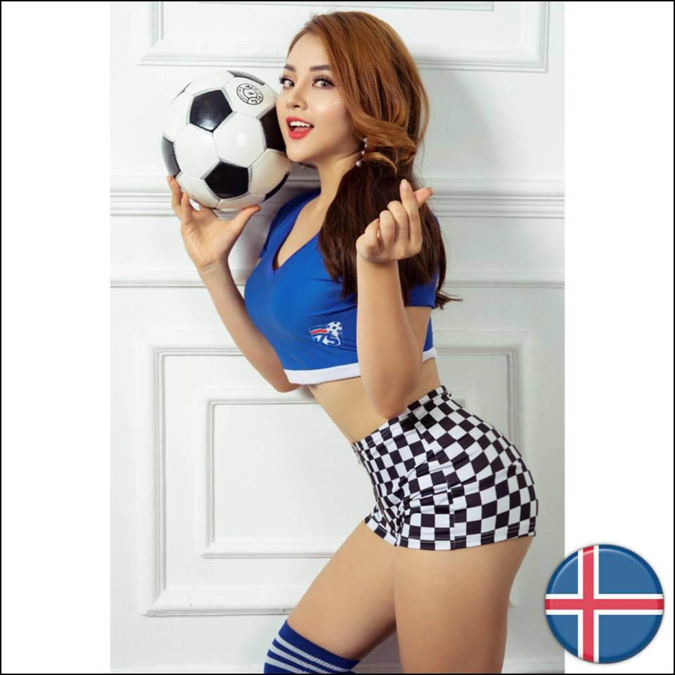"""Fan tuyển Iceland - """"Hot girl Kem Xôi"""" chỉ cách tăng 12 cm vòng 3 sau 1 năm - 3"""