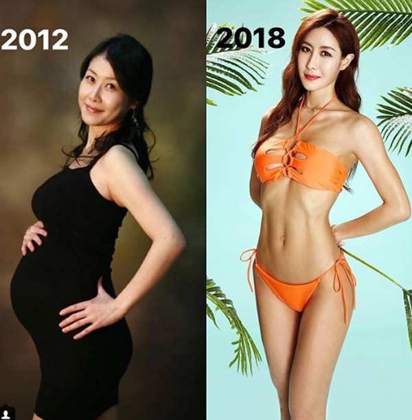 Bài tập eo nhỏ, hông nở nang của bà mẹ Hàn Quốc có thân hình đáng ngưỡng mộ - 3