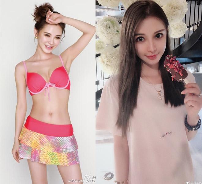 """Cô gái Đài Loan """"đập toàn mặt xây lại"""" để giống hệt Angela Baby - 2"""