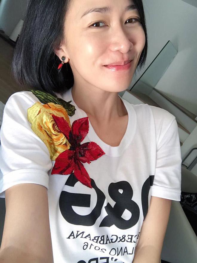 """""""Á hậu giàu nhất Hồng Kông"""" gây ngỡ ngàng khi gột bỏ son phấn - 4"""