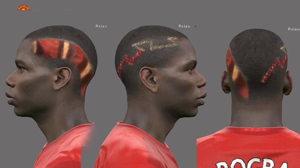 """Quên Neymar đi, Paul Pogba mới là """"thánh"""" cắt tóc, xăm quái dị - 4"""