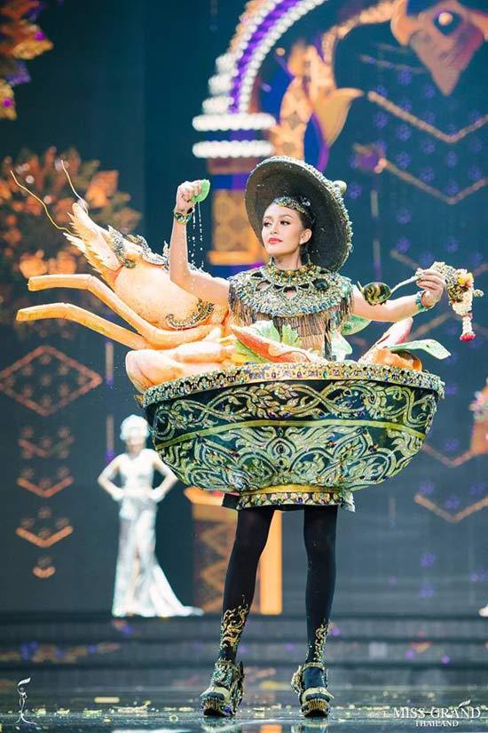 Phần thưởng khủng dành cho hoa hậu Thái Lan có... vùng nách đẹp nhất - 9