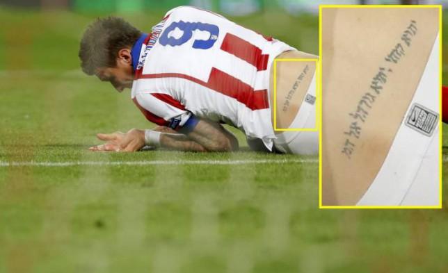 """Trước CK World Cup, ngắm hình xăm """"độc"""" của cầu thủ Pháp, Croatia - 9"""