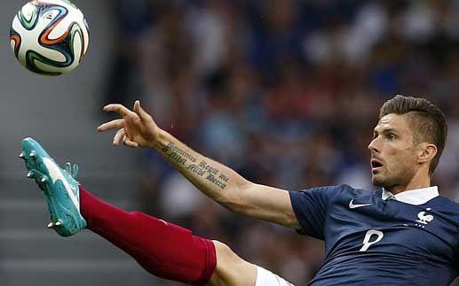 """Trước CK World Cup, ngắm hình xăm """"độc"""" của cầu thủ Pháp, Croatia - 3"""