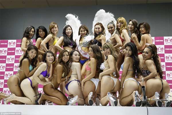 Cuối cùng đã có cuộc thi Hoa hậu Vòng 3 đẹp nhất Nhật Bản - 2