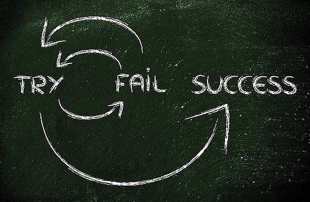 Sự thất bại không đáng sợ như chúng ta tưởng!