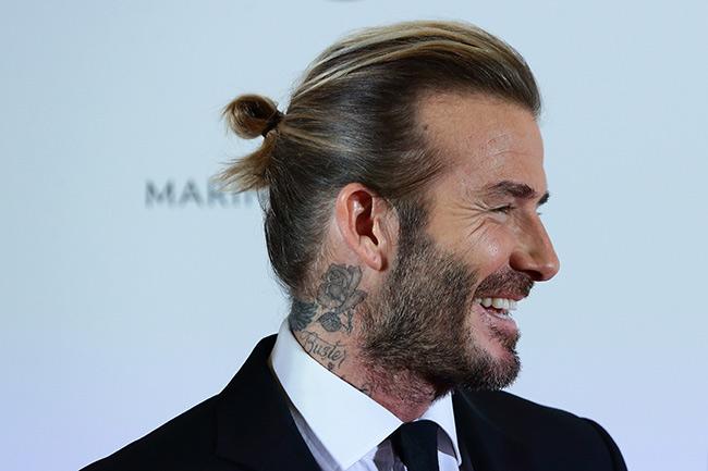 Phát hiện sự thật về mái tóc lơ thơ bị chê bai của David Beckham - 13