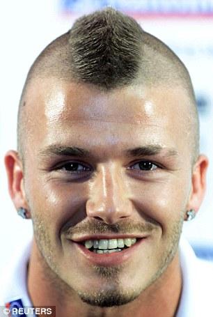 Phát hiện sự thật về mái tóc lơ thơ bị chê bai của David Beckham - 5