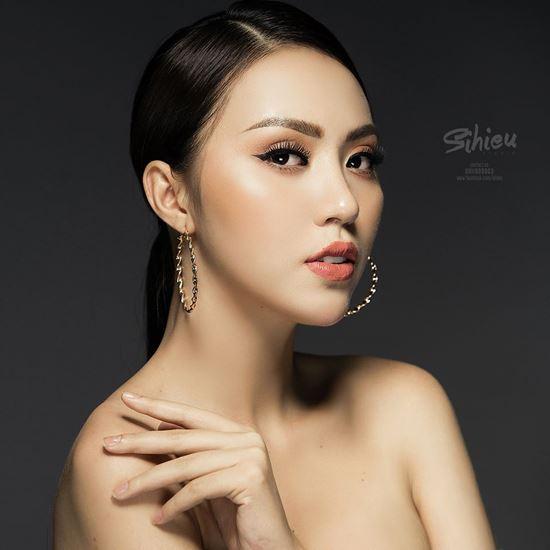 Thân hình đẹp như tượng tạc của mỹ nữ Siêu mẫu Việt Nam 2018 - 3