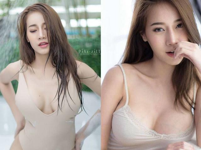 """""""Nữ thần phòng ngủ"""" Thái Lan có vòng 1 không dao kéo vẫn tuyệt đẹp"""