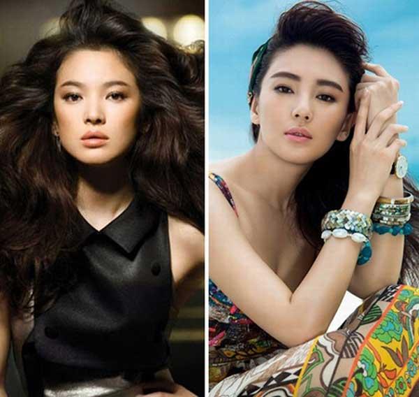 """""""Song Hye Kyo Trung Quốc"""" nở nang căng tràn dù không ăn thịt - 2"""