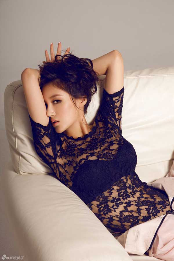 """""""Song Hye Kyo Trung Quốc"""" nở nang căng tràn dù không ăn thịt - 9"""
