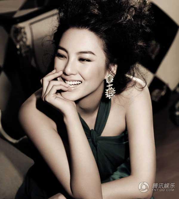 """""""Song Hye Kyo Trung Quốc"""" nở nang căng tràn dù không ăn thịt - 10"""