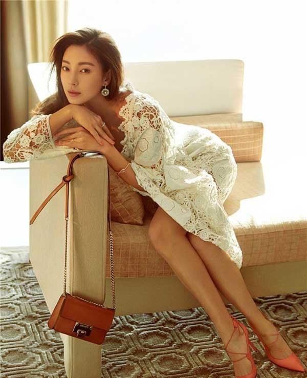 """""""Song Hye Kyo Trung Quốc"""" nở nang căng tràn dù không ăn thịt - 7"""