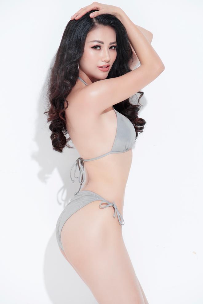 Mỹ nhân Bến Tre thi Hoa hậu Trái Đất xiết eo bằng... sắt - 2