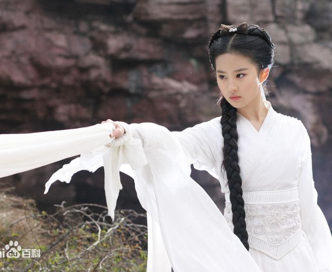 """Mặt mộc lắm khuyết điểm, Lưu Diệc Phi vẫn là đệ nhất """"thần tiên tỷ tỷ"""" của Kim Dung - 3"""