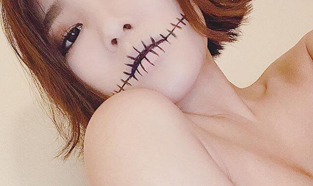 Jun Amaki thánh nữ vòng 1 Nhật Bản họa mặt kỳ quái nhân ngày Quỷ ám